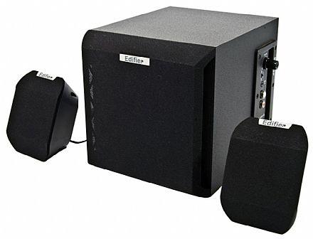 Caixa de Som - Caixa de Som 2.1 Edifier X100B - 15W RMS - Bivolt