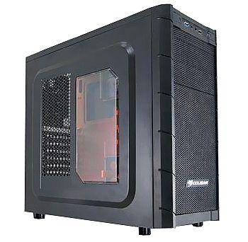 Gabinete - Gabinete Cougar Archon - The Ultimate Gaming Case - Interior Laranja - USB 3.0 e Audio Frontal
