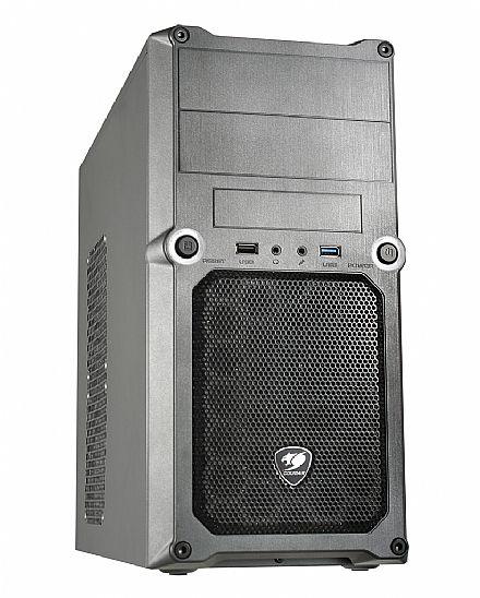 Gabinete - Gabinete Cougar MG100 - USB 3.0 - Cinza - 5SS8