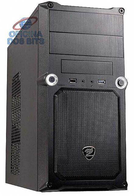 Gabinete - Gabinete Cougar MG100 - USB 3.0 - Preto - 5SS8