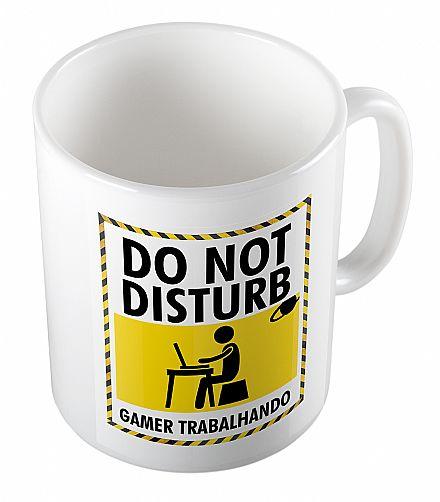 Acessórios - Caneca de porcelana - Do Not Disturb