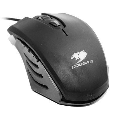 Mouse - Mouse Cougar Gamer 200M - 2000dpi - 6 botões - Conector banhado a ouro