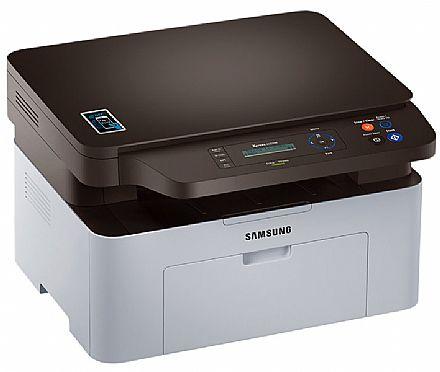 Multifuncional - Multifuncional Laser Samsung SL-M2070W - USB, Wi-Fi, NFC - Impressora, Copiadora, Scanner