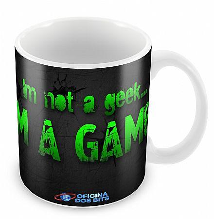 Acessórios - Caneca de porcelana - I`m a Gamer