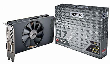 Placa de Vídeo - AMD Radeon R7 360 2GB DDR5 128bits - XFX R7-360P-2SF5