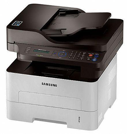 Multifuncional - Multifuncional Laser Samsung Xpress SL-M2885FW - USB, Rede, Wi-Fi, NFC - Impressora, Copiadora, Scanner e Fax - Duplex Frente e Verso