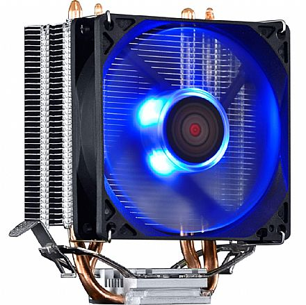 Cooler CPU - Cooler PCYes Zero K Z2 (AMD / Intel) - LED Azul - ACZK292LDA