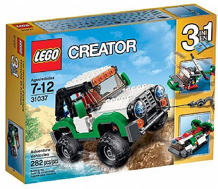 Brinquedo - LEGO Creator - Veículos De Aventura - 31037