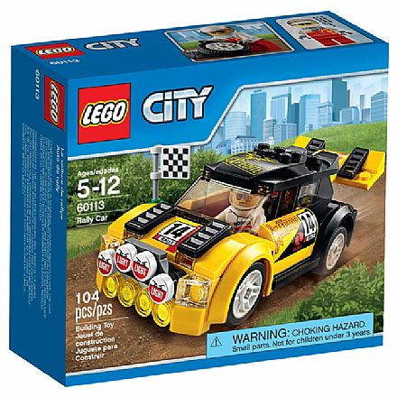 Brinquedo - LEGO City - Carro de Rally - 60113