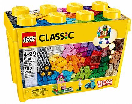 Brinquedo - LEGO Classic - Caixa Grande de Peças Criativas - 10698