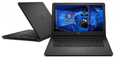 """Notebook - Dell Inspiron i14-5468-NU10P - Tela 14"""" HD, Intel i3 6006U, 4GB, HD 1TB, Intel HD Graphics 520, Linux - Garantia 1 ano em casa - Outlet"""