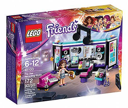 Brinquedo - LEGO Friends - O Estúdio de Gravação - 41103