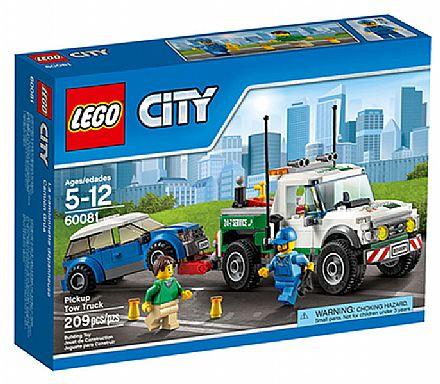 Brinquedo - LEGO City - Caminhão Rebocador - 60081