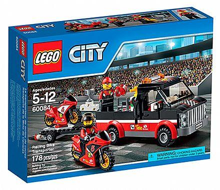 Brinquedo - LEGO City - Transportador de Motocicletas - 60084
