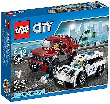 Brinquedo - LEGO City - Perseguição Policial - 60128