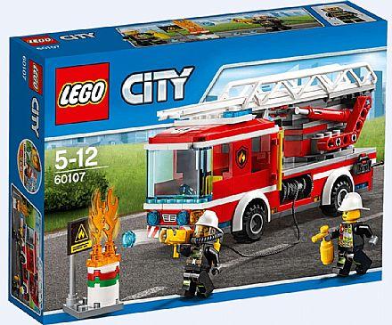 Brinquedo - LEGO City - Caminhão de Combate ao Fogo - 60107