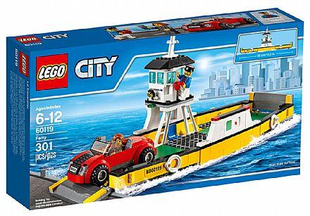 Brinquedo - LEGO City - Balsa - 60119