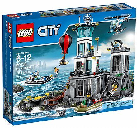 Brinquedo - LEGO City - Ilha da Prisão - 60130