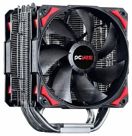 Cooler CPU - Cooler PCYes Zero K Z5 (AMD / Intel) - ACZK5120
