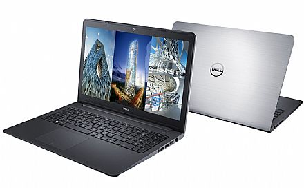 "Notebook - Notebook Dell Inspiron i14-5448-RW20 - Tela 14"" Touch, Intel i7 5500U, 16GB, SSD 240GB, Video Radeon R7 M265 2GB, Windows 10 - Garantia 1 ano - Seminovo"