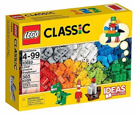 Brinquedo - LEGO Classic - Suplemento Criativo - 10693