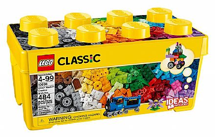Brinquedo - LEGO Classic - Caixa Média de Peças Criativas - 10696