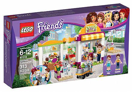 Brinquedo - LEGO Friends - O Supermercado de Heartlake - 41118