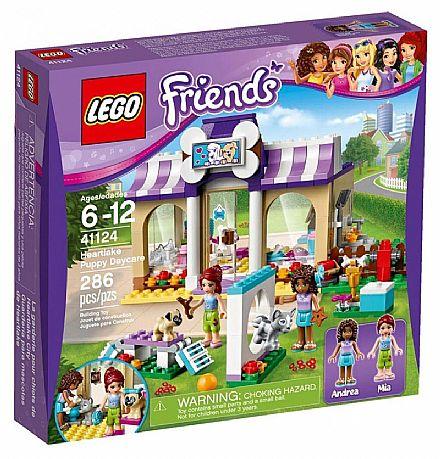 Brinquedo - LEGO Friends - A creche para cães de Heartlake - 41124