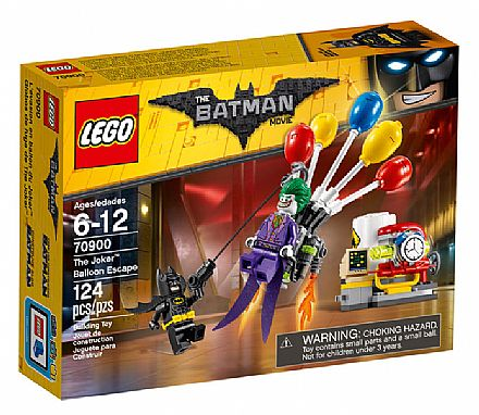Brinquedo - LEGO Batman Movie - A Fuga de Balão do Coringa - 70900
