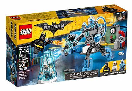 Brinquedo - LEGO Batman Movie - Ataque de Gelo do Sr. Frio - 70901
