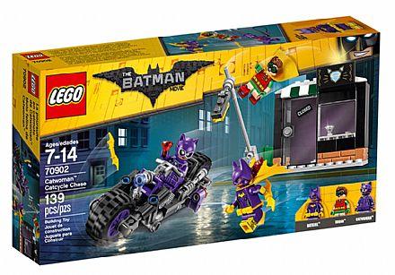 Brinquedo - LEGO Batman Movie - A Perseguição de Motocicleta da Mulher-Gato - 70902