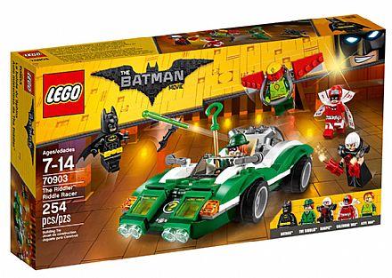 Brinquedo - LEGO Batman Movie - Riddle, o Carro de Corrida do Charada - 70903