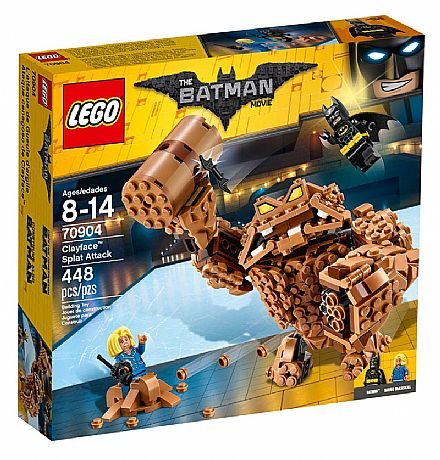 Brinquedo - LEGO Batman Movie - O Ataque de Lama do Cara-de-Barro - 70904