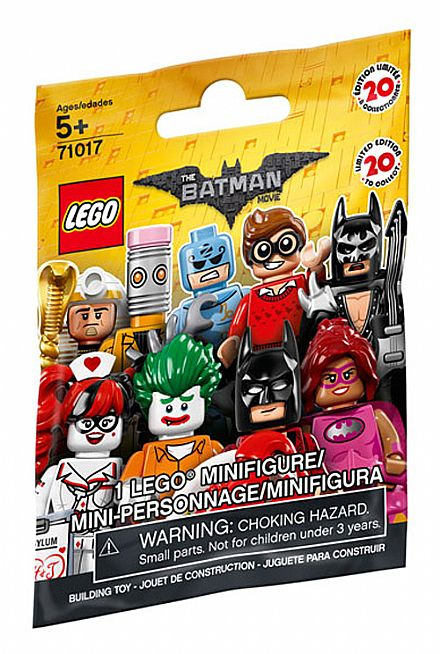Brinquedo - LEGO Batman Movie - Minifiguras - 71017