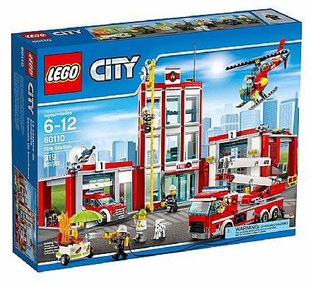 Brinquedo - LEGO City - Quartel dos Bombeiros - 60110