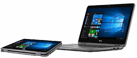 "Notebook - Notebook Dell Inspiron i11-3168-A10 2 em 1 - Tela 11.6"" Touch HD, Intel Pentium N3710, 4GB, HD 500GB, Windows 10 - Outlet"