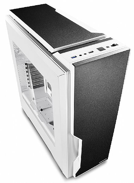 Gabinete - Gabinete DeepCool Dukase V3 White - Janela Lateral em Acrílico - Controlador de Fan - Branco - ATX-DUKWH-V3