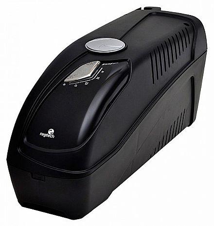 NoBreak - NoBreak 900VA Ragtech Easy Pro 900S - Senoidal - Trivolt - Saída USB - 20NEP4161