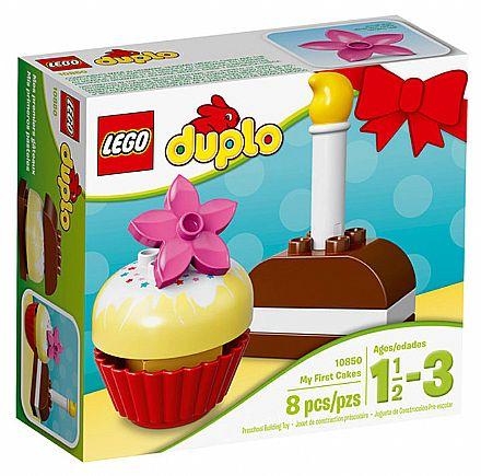 Brinquedo - LEGO Duplo - Os Meus Primeiros Bolos - 10850