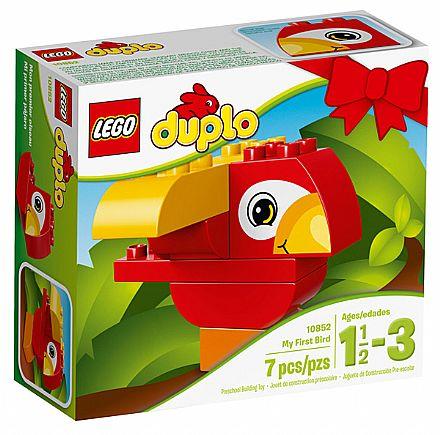 Brinquedo - LEGO Duplo - O meu primeiro Pássaro - 10852