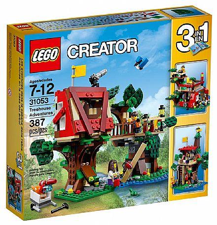 Brinquedo - LEGO Creator - Aventuras na Casa da Árvore - 31053