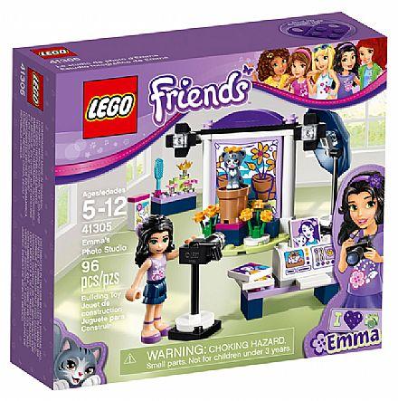 Brinquedo - LEGO Friends - O Estúdio Fotográfico da Emma - 41305