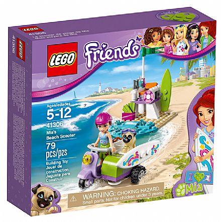 Brinquedo - LEGO Friends - A Scooter de Praia da Mia - 41306