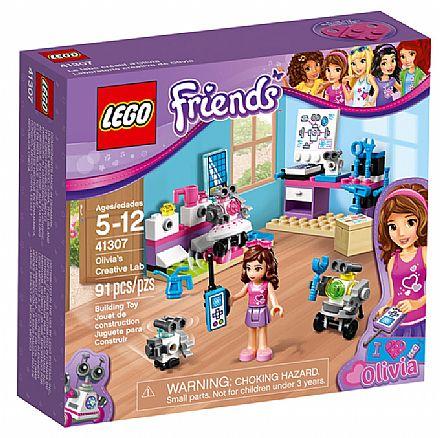 Brinquedo - LEGO Friends - O Laboratório Criativo da Olivia - 41307