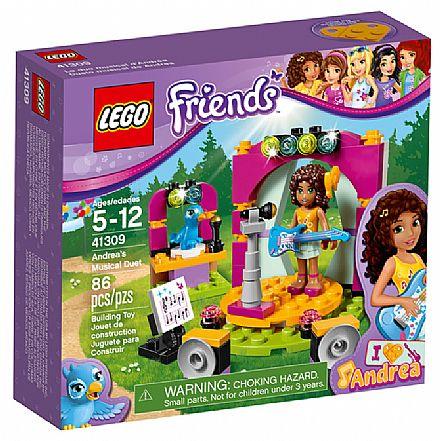 Brinquedo - LEGO Friends - O Dueto Musical da Andrea - 41309