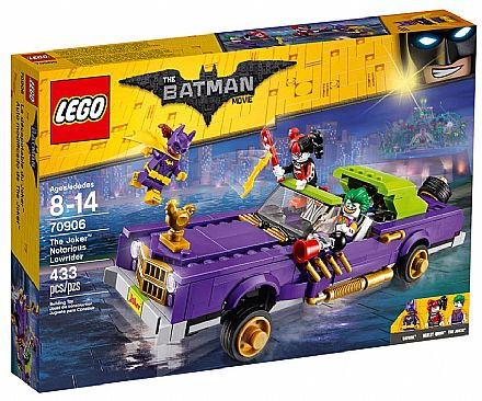 Brinquedo - LEGO Batman Movie - O Extravagante Lowrider do Coringa - 70906