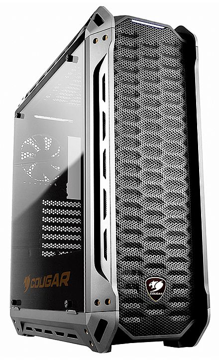 Gabinete - Gabinete Cougar Gaming Panzer - USB 3.0 - Mid Tower - Vidro Temperado - Preto - 10473-5