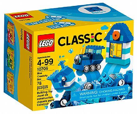 Brinquedo - LEGO Classic - Caixa de Criatividade Azul - 10706