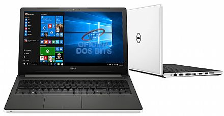 "Notebook - Dell Inspiron i15-5566-A50B - Tela 15.6"" HD, Intel i7 7500U, 16GB, HD 1TB, Intel HD Graphics 620, Windows 10"