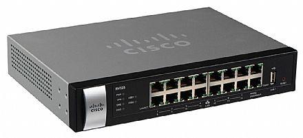 Roteador Load Balance Cisco RV325 Gigabit - 2 portas WAN